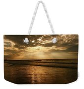 Beach Sunrise Weekender Tote Bag by Nelson Watkins