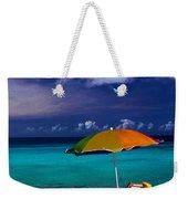 Beach Umbrella Weekender Tote Bag
