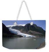 Bear Glacier Weekender Tote Bag