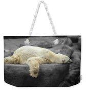 Bear On A Break Weekender Tote Bag