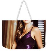 Beautiful Glamour Model Weekender Tote Bag