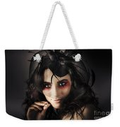 Beautiful Jewellery Woman Wearing Necklace Weekender Tote Bag