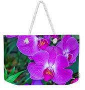 Beautiful Purple Orchid - Phalaenopsis Weekender Tote Bag