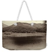 Beauty Of A Loch And Natural Surroundings In The Scottish Highlands Weekender Tote Bag