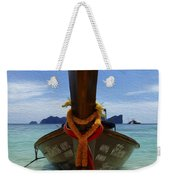 Beauty Of Boats Thailand 1 Weekender Tote Bag