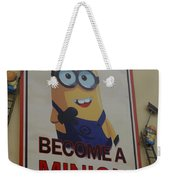 Become A Minion Weekender Tote Bag