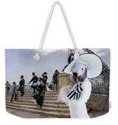 Bedlington Terrier Art Canvas Print Weekender Tote Bag