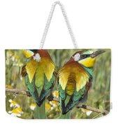Bee-eaters Weekender Tote Bag