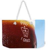 Beer Pint Glass Weekender Tote Bag
