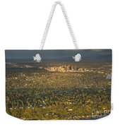 Bellvue Skyline At Sunset Weekender Tote Bag