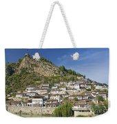 Berat Old Town In Albania Weekender Tote Bag