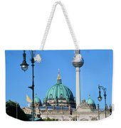 Berlin Cathedral And Tv Tower Weekender Tote Bag