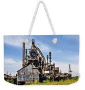 Bethlehem Steel Mill Weekender Tote Bag