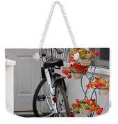 Bicycles And Geraniums Weekender Tote Bag