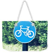 Bicyle Route Weekender Tote Bag