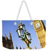 Big Ben And Palace Of Westminster Weekender Tote Bag by Elena Elisseeva