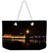 Big Ben And The House Of Parliment On The Thames Weekender Tote Bag
