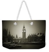 Big Ben On A Wintery Day Weekender Tote Bag