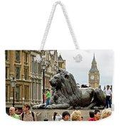 Big Lion Little Ben Weekender Tote Bag