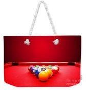 Billards Pool Game Weekender Tote Bag