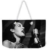 Billie Holiday (1915-1959) Weekender Tote Bag