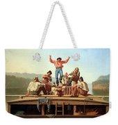 Bingham's The Jolly Flatboatmen Weekender Tote Bag