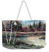 Birch Lake Weekender Tote Bag