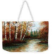 Birch Pond Weekender Tote Bag