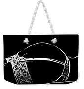 Black And White Pleasure Weekender Tote Bag