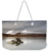 Black Mount And Lochan Na H-achlaise Weekender Tote Bag