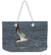 Black Skimmer Eating Fish Weekender Tote Bag