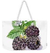Artz Vitamins Series The Blackberries Weekender Tote Bag
