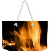 Blazing Campfire Weekender Tote Bag