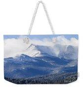 Blizzard Peak Weekender Tote Bag