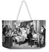 Blood Transfusion, 1874 Weekender Tote Bag