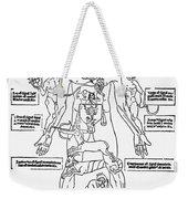 Bloodletting Chart, 1493 Weekender Tote Bag