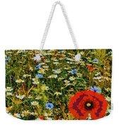 Blossoming Meadow Weekender Tote Bag