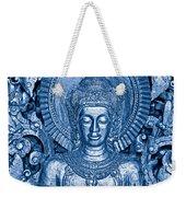 Blue Buddha Weekender Tote Bag