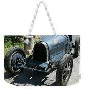 Blue Bugatti Oldtimer Weekender Tote Bag