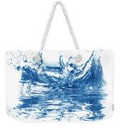 Blue Fresh Water  Weekender Tote Bag