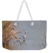 Blue Heron In The Wild Weekender Tote Bag