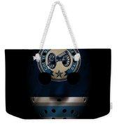 Blue Jackets Jersey Mask Weekender Tote Bag