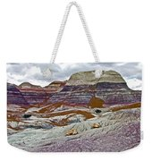 Blue Mesa Trail In Petrified Forest National Park-arizona Weekender Tote Bag