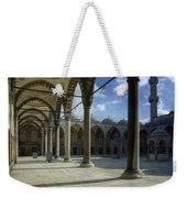 Blue Mosque Courtyard Weekender Tote Bag