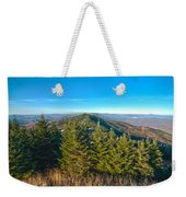Blue Ridge Mountains North Carolina Weekender Tote Bag
