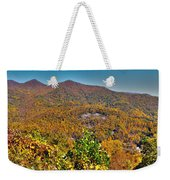 Blue Ridge Parkway Weekender Tote Bag