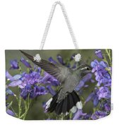 Blue-throated Hummingbird Weekender Tote Bag