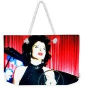 Blue Velvet Weekender Tote Bag