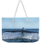 Blue Whale Tail Sea Of Cortez Weekender Tote Bag