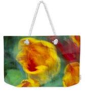 Blurred Tulips Weekender Tote Bag